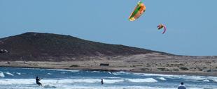 Kitesurfen bei El Medano